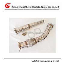 "NEW HIGH QUALITY Volkswagen GOLF/JETTA/BEETLE 99-05 1.8T Stainless Steel 3"" Turbo Downpipe MK4"