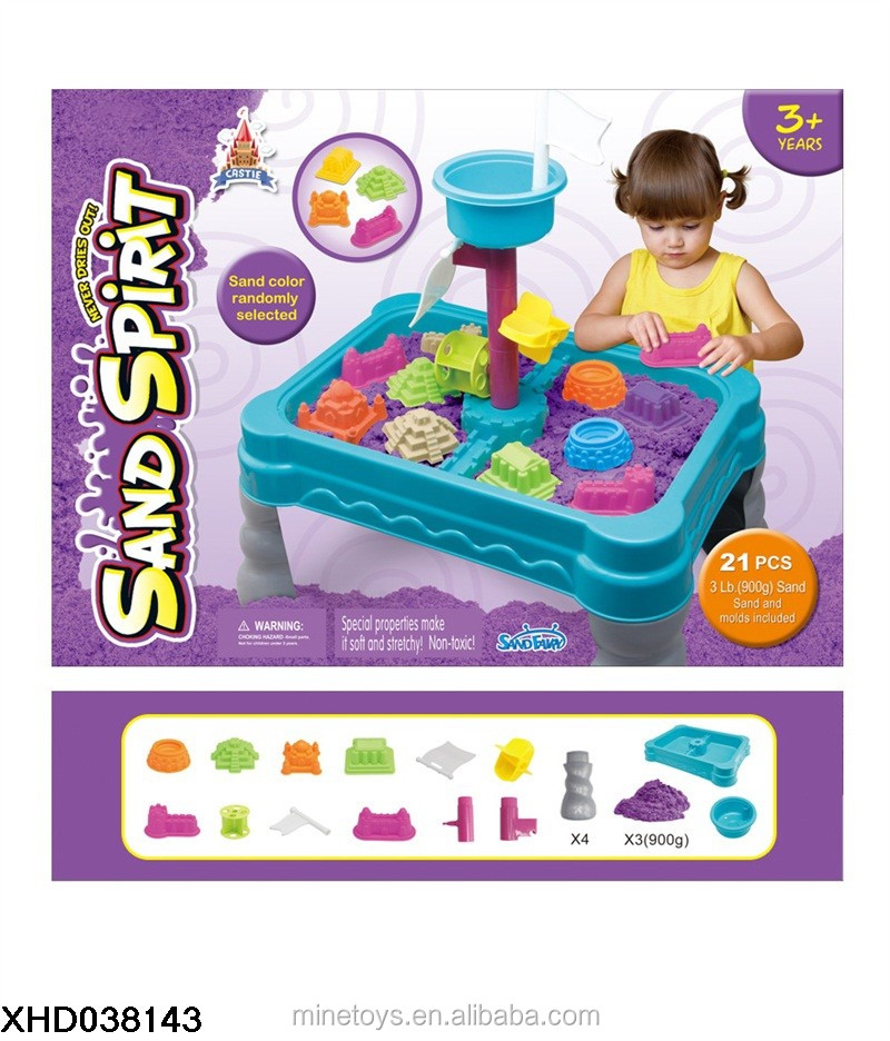 Magic Sand With Play Table and Accessories