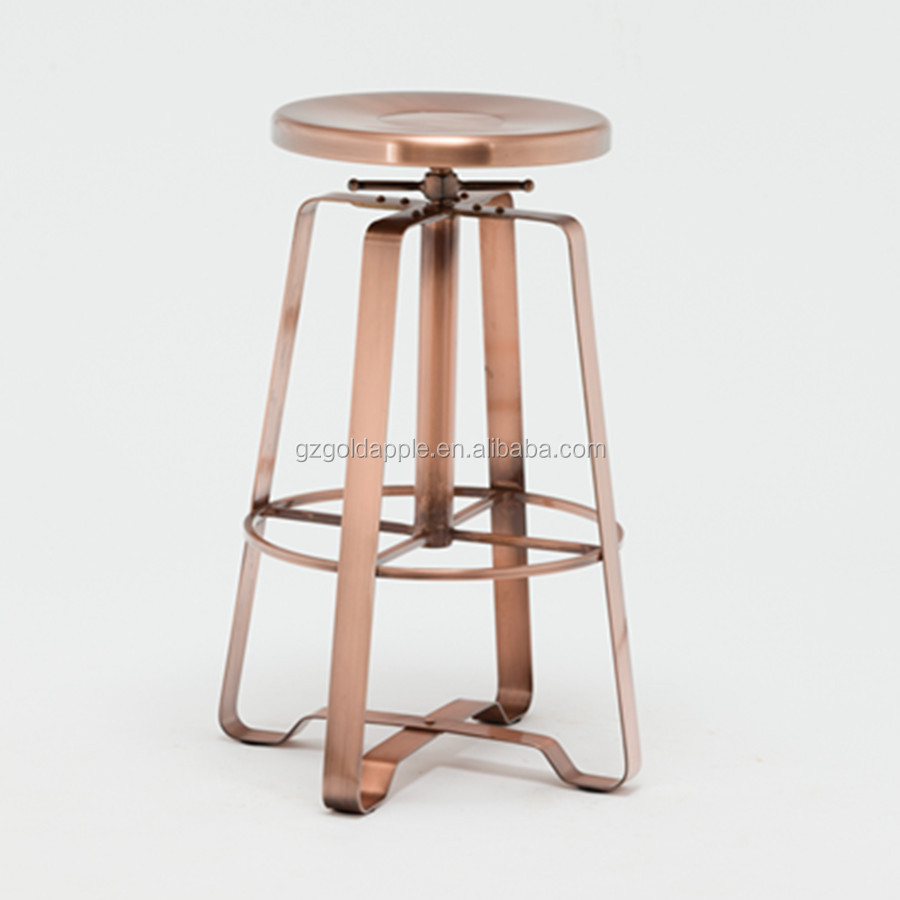 Admirable Commercial Industrial Furniture Metal Backless Swivel Bar Stool Adjustable Counter Stools Buy Counter Stools Stools Adjustable Counter Stool Machost Co Dining Chair Design Ideas Machostcouk