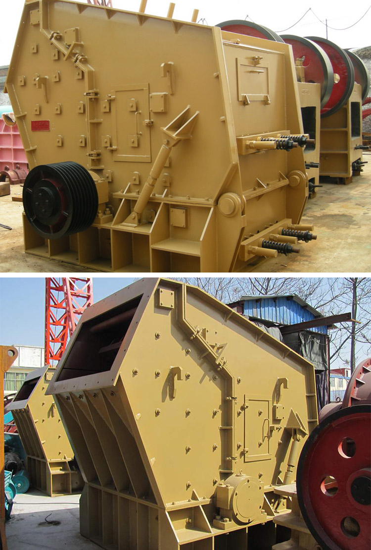 Hihg quality sandstone river stone pf1214 mobile impact crusher sale