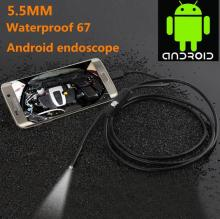 1.3 million pixels 5.5mm Andrews mobile phone endoscopy android mobile phone industrial endoscope 1 meter long