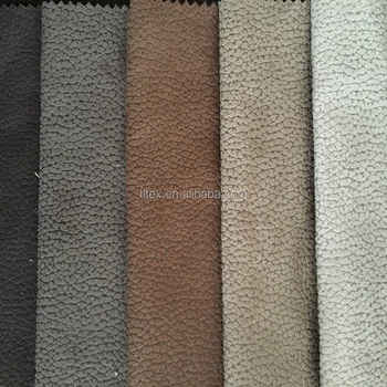 Suede Upholstery Fabric Vintage Sofa