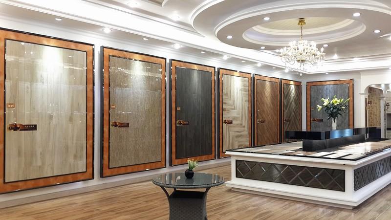 Wandtegels badkamer kleuren gouden kleur golfpatroon wandtegel keramische tegels voor de - Badkamer keramische foto ...