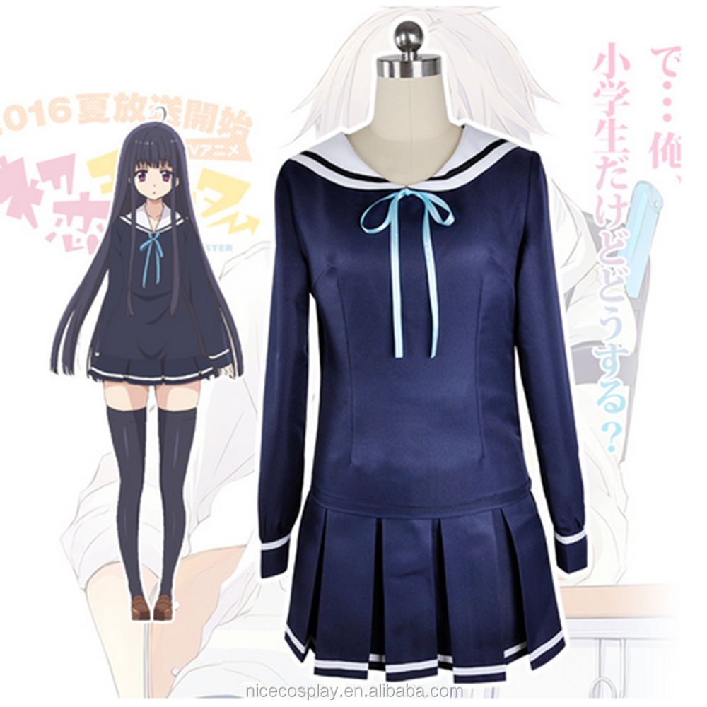 Summer New Monster Cosplay Anime Costumes High School Uniforms Wholesale