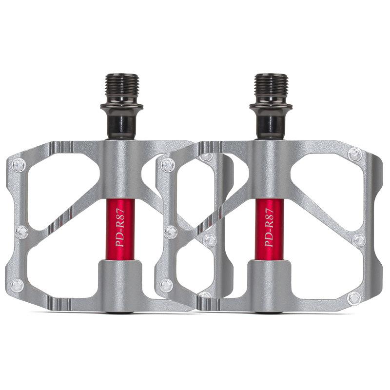 MTB Road Bike 3 Bearings Sealed Aluminum-Magnesium Alloy Platform Bicycle Pedals