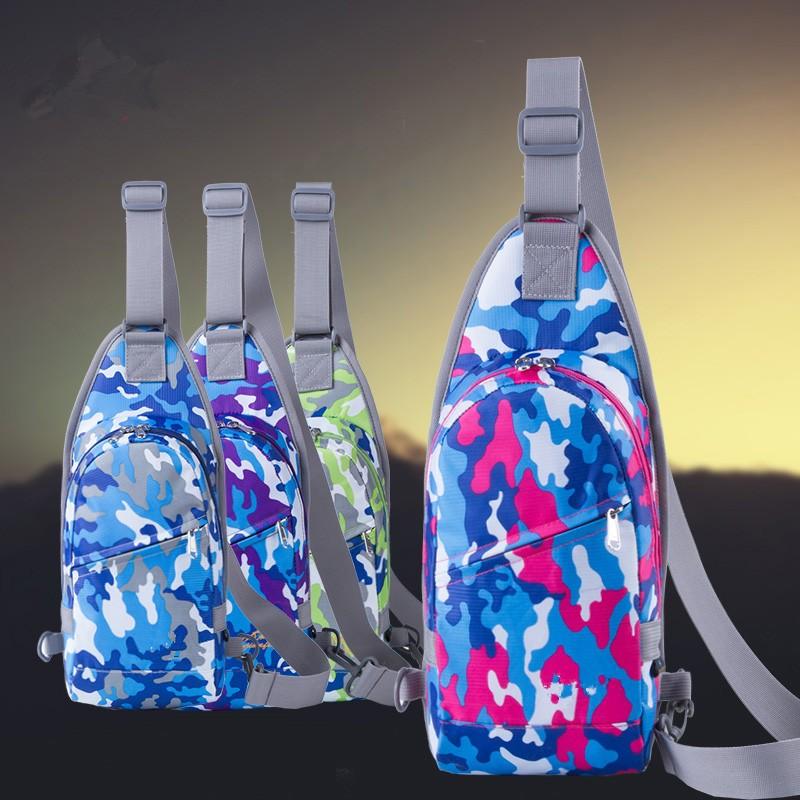 Multi-functional Portable Chest Pack Bag Camo Belt Bum Bag