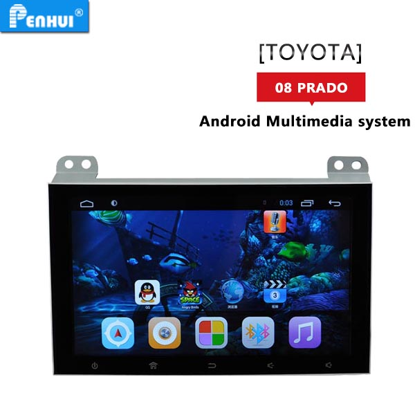 PENHUI 9 inch Android 6.0 Car GPS radio fits for <strong>Toyota</strong> <strong>Prado</strong> 120 2004-2010 Support OBD+DVR+Wifi+mirror-link+free map