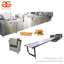 Hot Selling Fruits Snack Bar Equipment Peanut Bar Production Line Groundnut Chikki Machine