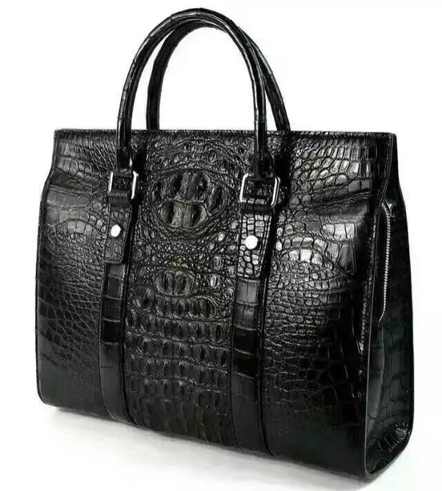 Bulk Luxury Crocodile Leather Hangbag For Woman