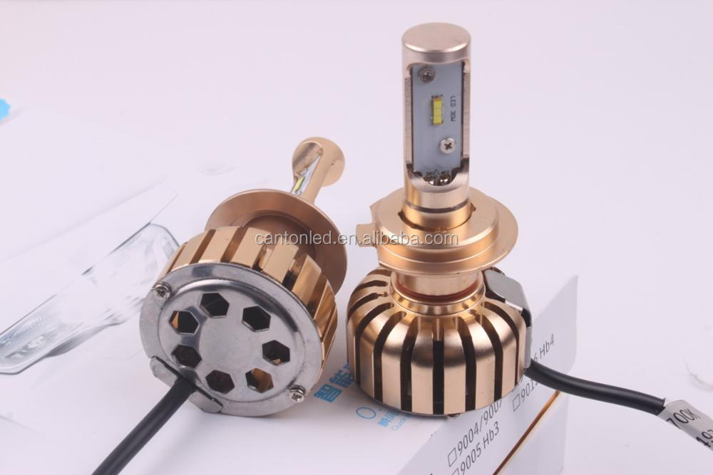 Gold Body automobiles & motorcycles auto car led headlights bulb kit high lumer super bright car led kit