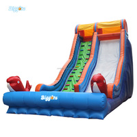 Giant Tobogan Inflable Inflatable Kids Toys Water Slides For Sale