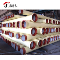 ductile iron pipe manufacturers DI pipe with external polyurethane