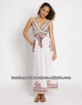 maxi dress voor lange vrouwen
