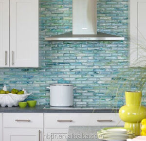 cheapest ceramic mosaic tile / glass mosaic title / Mosaic tiles made in China for kitchen backsplash