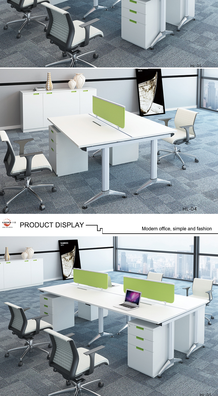 cheap price factory direct modular office desk partition computer workstation for small office. Black Bedroom Furniture Sets. Home Design Ideas