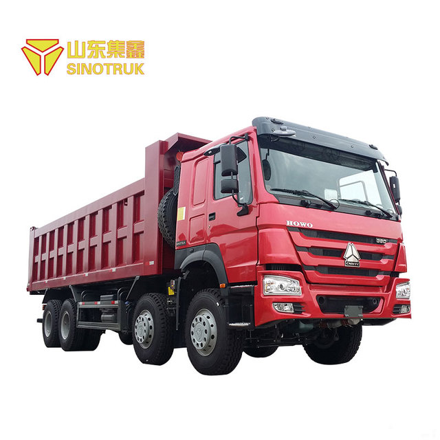 High Quality Sinotruk howo 8x4 giant sand dump truck for sale