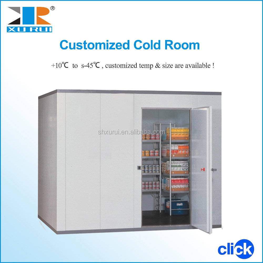 Cold Storage Rooms Design/ Food Cold Room For Fruits And