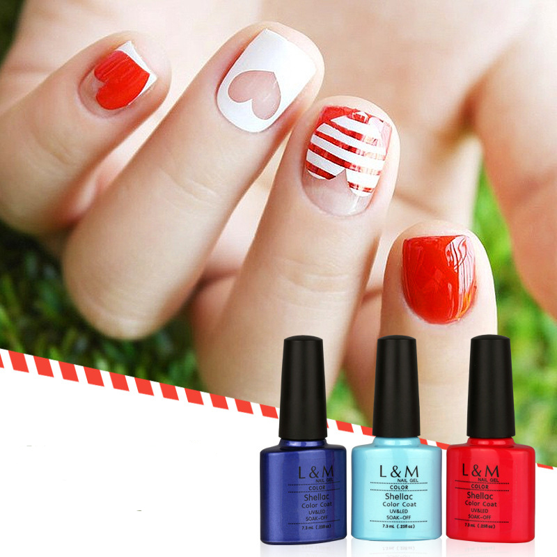 Nail Gel Candy Lover Gel Polish Grind Arenaceous Candy Lover Led Lac UV LED Nail Polish