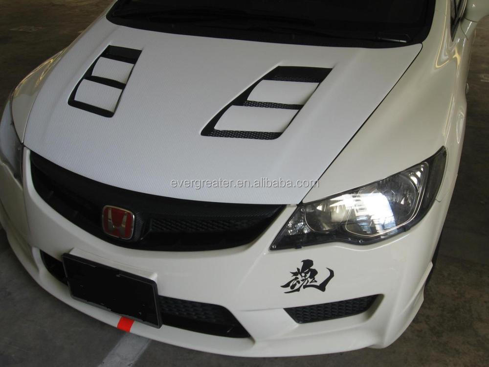 Fashion design adhesive car bonnet sticker