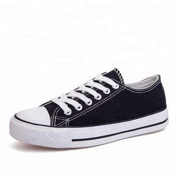 Custom low moq reseller's cheap white canvas mens shoes for men