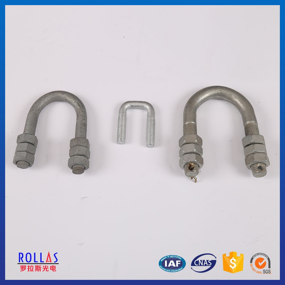 U Shape Bolts With Nuts /hot Dip Galvanized Bolt And Nuts For ...