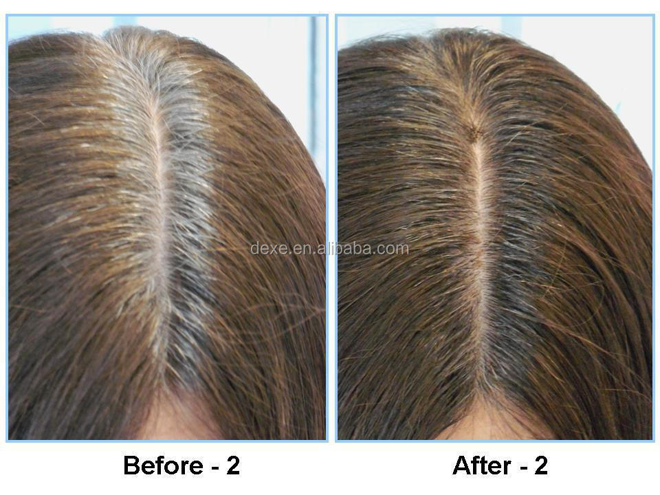 Dexe Cover The Grey Root Color Dye Waterproof Ingredient Powder For