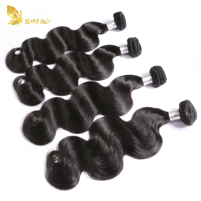 Wholesale cheap virgin body wave Brazilian human hair weave bundles