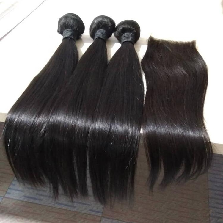 Qingdao Haiyi Unprocessed Cuticle Aligned <strong>Hair</strong> Brazilian Silky Straight Virgin <strong>Hair</strong>