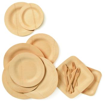 Einweg Teller Palmblatt Bambus Holz Sushi Platter Platten Buy