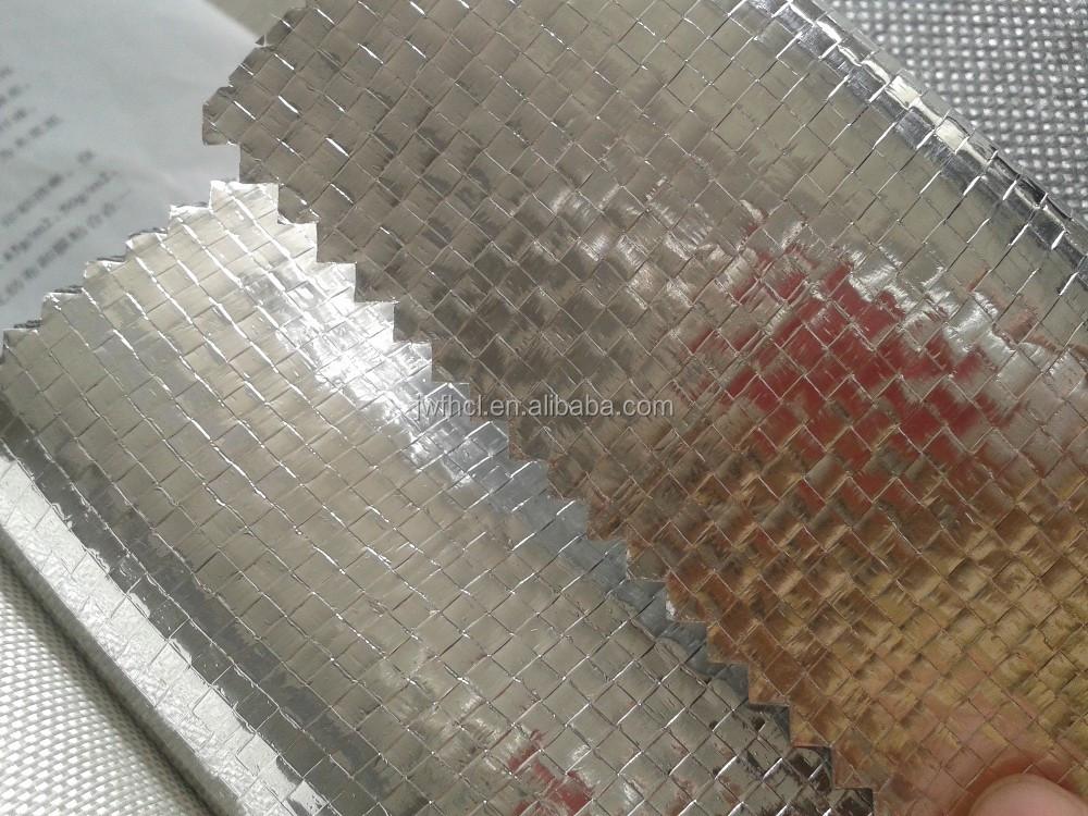 Aluminum Foil Pe Woven Fabric Thermal Insulation Material