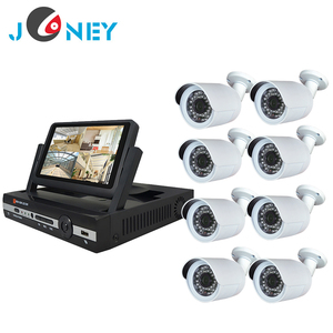 Joneytech High resolution security ahd dvr camera system kit 1080p