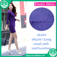 Wholesale cotton double pique knitted fabric