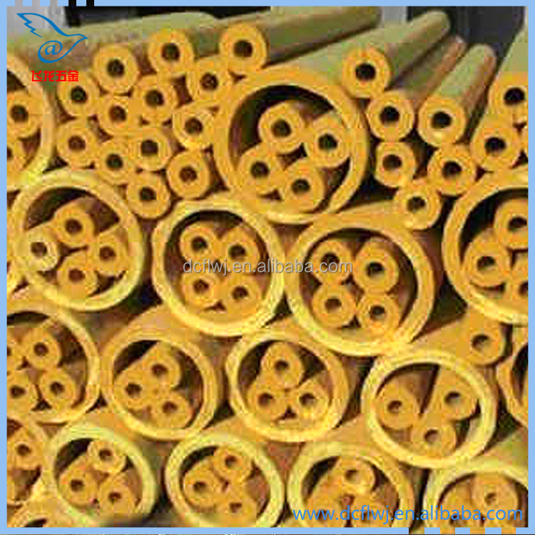 Industry Fireproof high temperature mineral wool pipe insulation