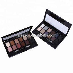 12 color eyeshadow powder shimmer matte makeup paletee farres brand cosmetics