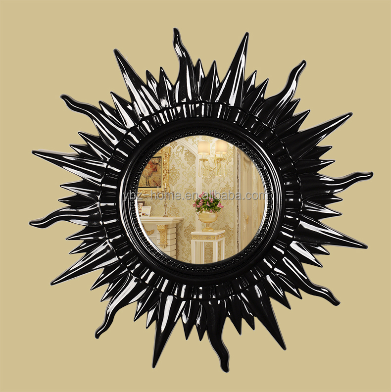 Resin Oval Baroque Mirror French Rococo Mirror Wall Mirror Frame