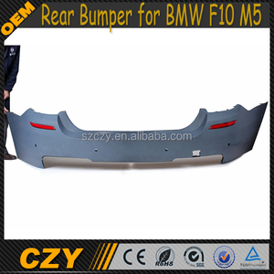PP Auto Body kits F10 M5 Rear Bumper for BMW F10