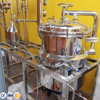 Small Stainless Steel Rosemary Extraction of Essential Oils Steam Distillation Machine