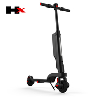 New fashion design 400W HX brand folding electric scooter for Korea