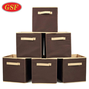 Fashion Underwear storage box plastic military storage box / collapsible storage cubes / fabric storage boxes