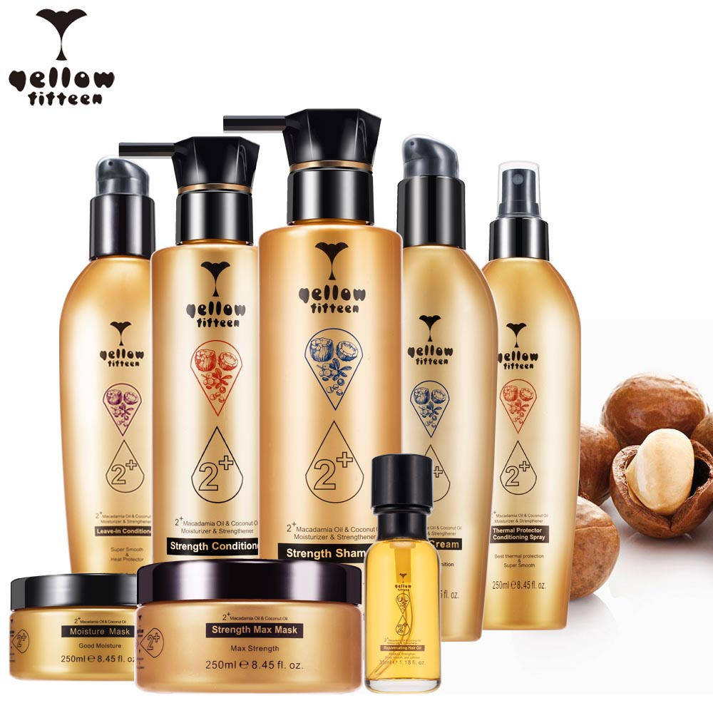 Macadamia oil & Coconut oil branded moisturizing smoothing hair conditioner for hair growth