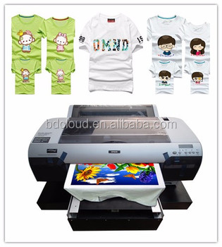 Low Cost Price Digital T-shirt Printer High Speed Fabric Printing ...