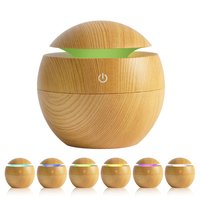 Portable USB Aroma Essential Oil Diffuser 7 Colors Led Light Ultrasonic Cool Mist Humidifier