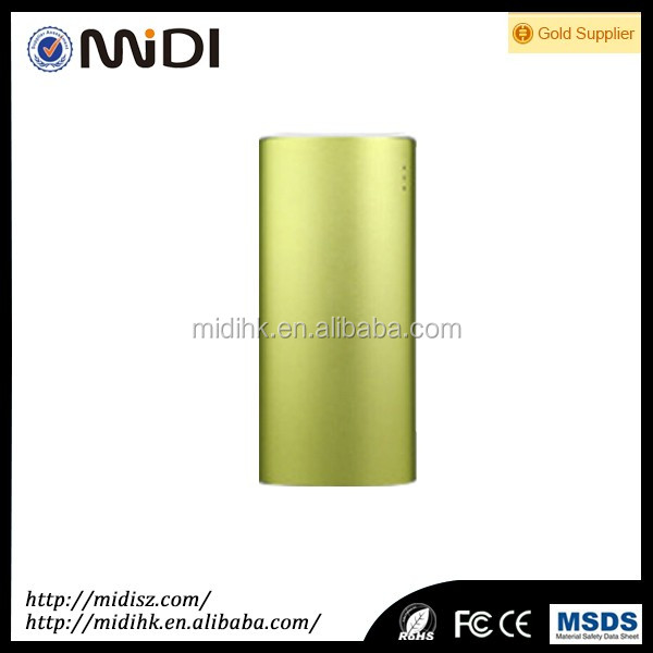 new model mobile emergency external battery charger, 5200mah CE ROHS power bank
