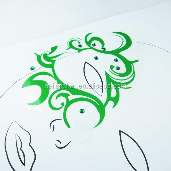 Custom Halloween Glitter Design Temporary Face Art Stickers For ...