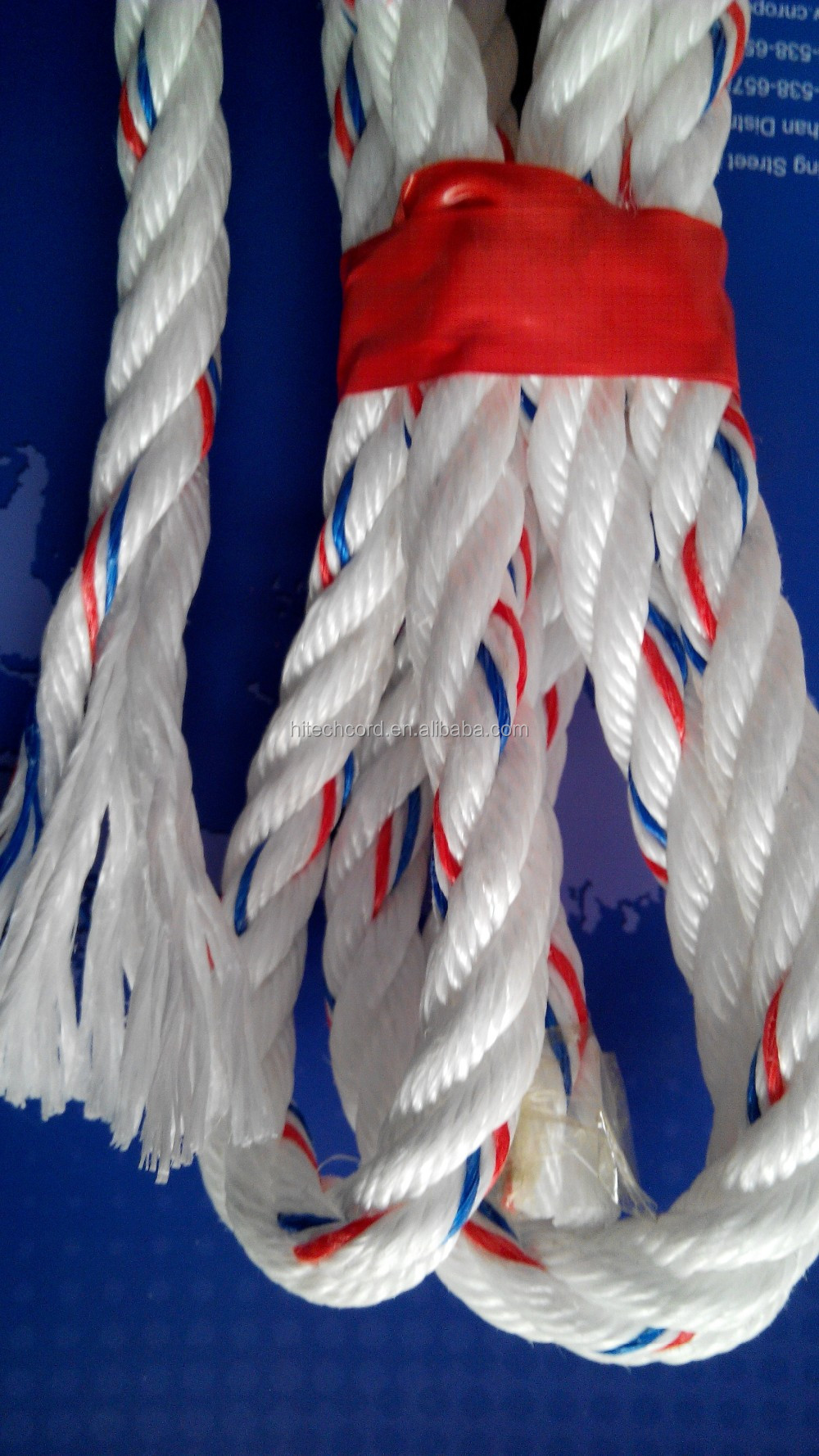 High Quality 1/2 Inch 3-Strand PP Danline Rope with Factory Price