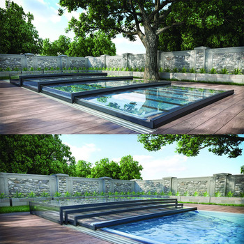 Popular Style Retractable Swimming Pool Enclosures