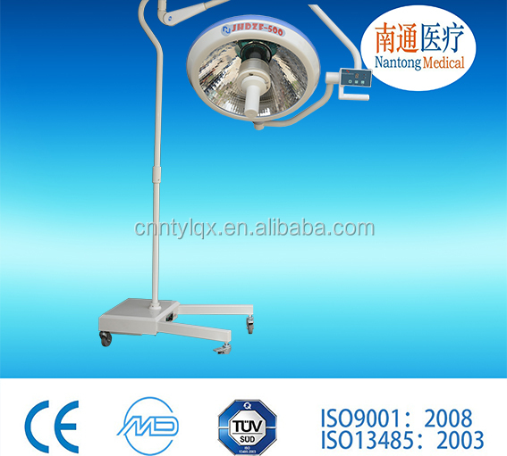 Mobile operating Shadowless Lamp/ halogen OT light manufacturer cheap price