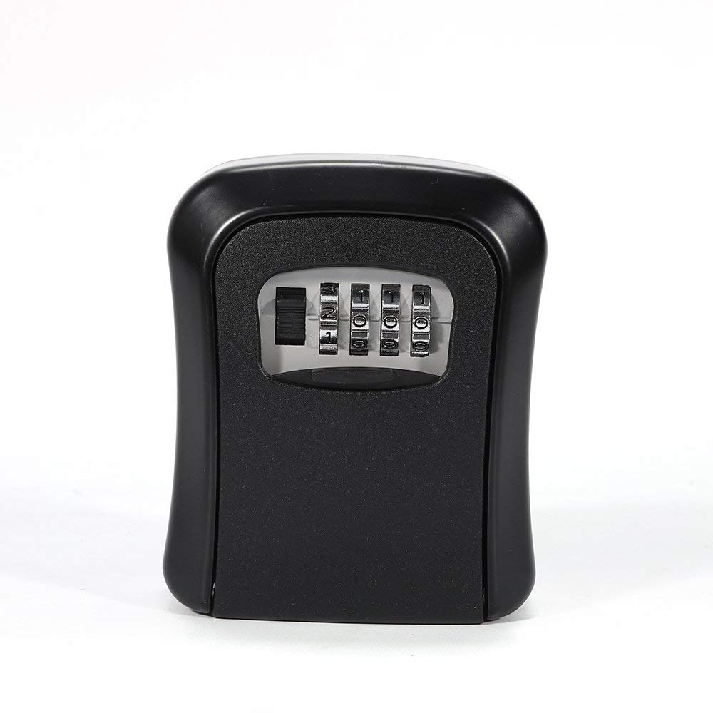 2019 Fashion Key Lock Box Wall Mount Key Lock Box 4-digit Combination Key Storage Lock Box Weatherproof For Outdoor Indoor Kleidung & Accessoires