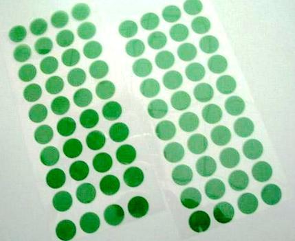 Ad alta temperatura Poliestere nastro isolante verde per PCB Placcatura, Anodizzazione, Verniciatura a Polvere