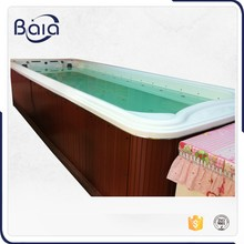 new design hotsale wooden around baby indoor hot tub with massage home lay-z-spa swimming pool